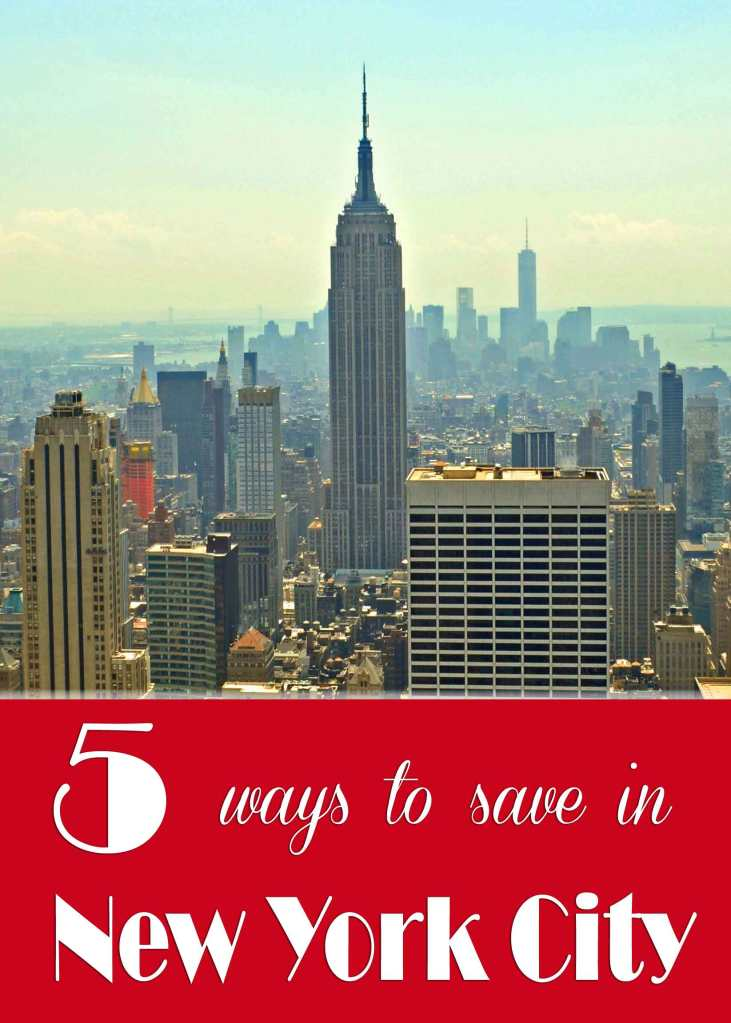 5 ways to save in New York City